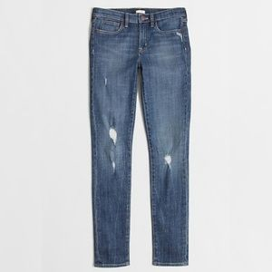 COPY - J.crew highley distressed toothpick Jean's…